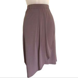 Karen Fairchild Mini Tulip Skirt Purple Size 1X
